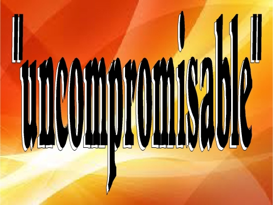 FEAR - uncompromisable 1