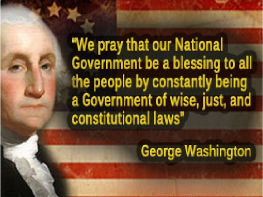 George Washington 1a  - quote praye