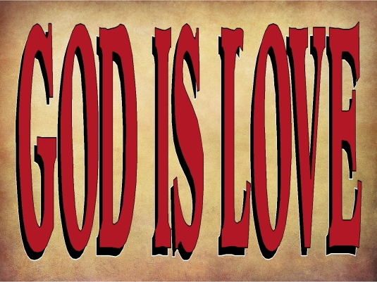 God is love 1A