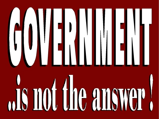 government - not the answer 1a