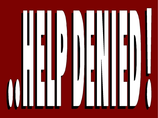 help denied 4A