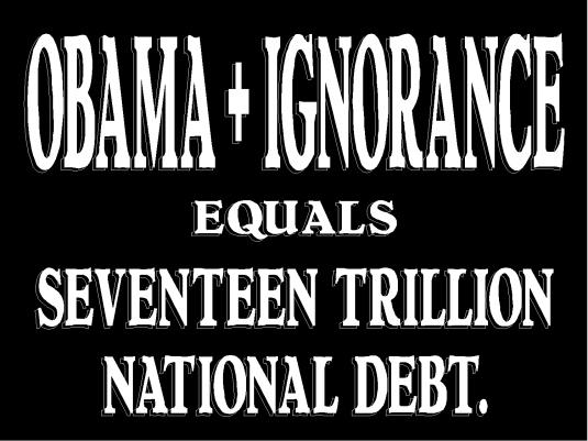 Obama plus ignorance 1A