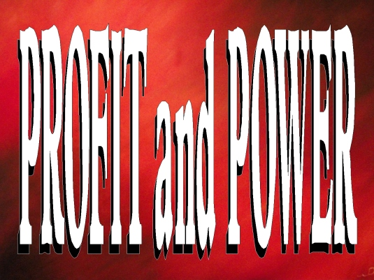 profit and power - page break