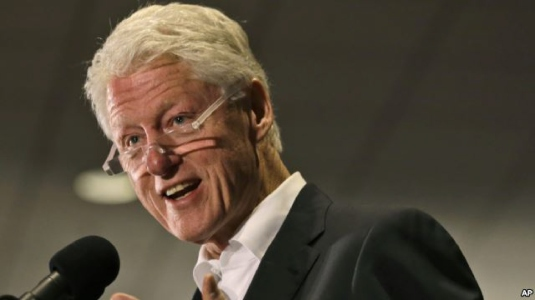 recipient - Bill Clinton