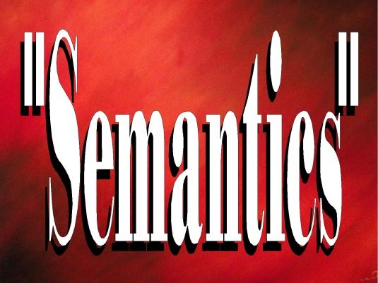 semantics page break 1