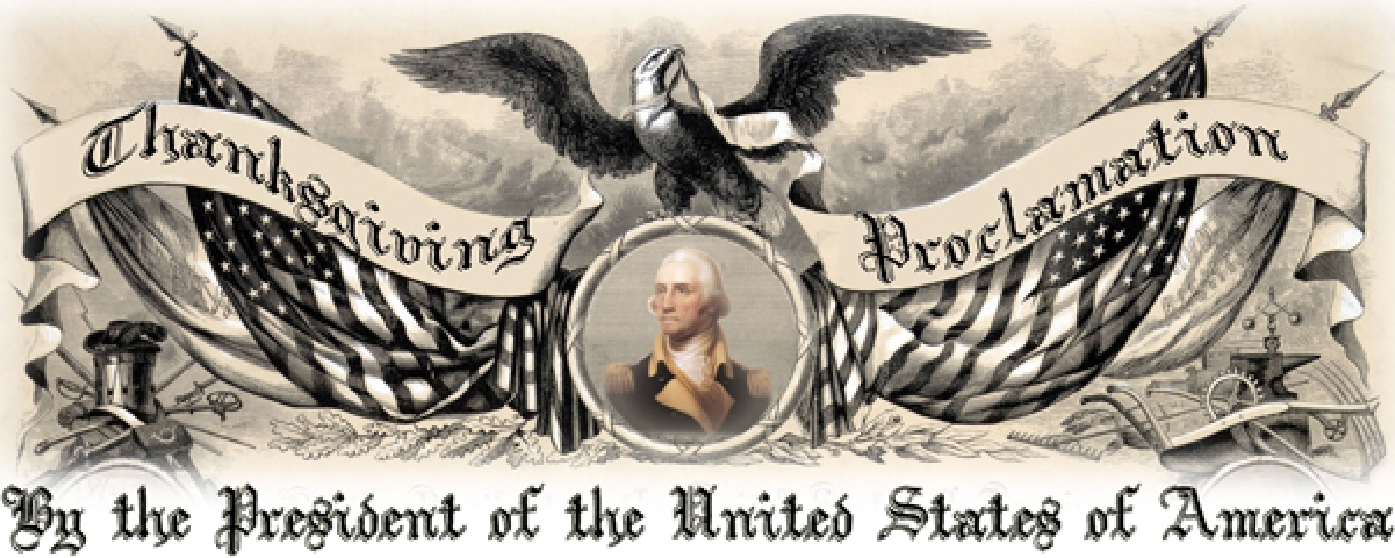 1789 George Washington Thanksgiving Proclamation