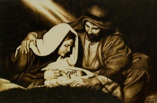 the birth of Jesus 1