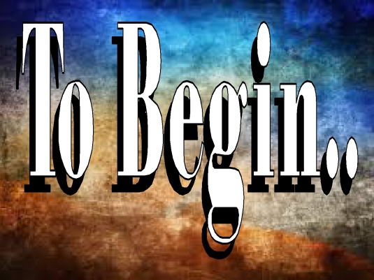 to begin - graphic 1a