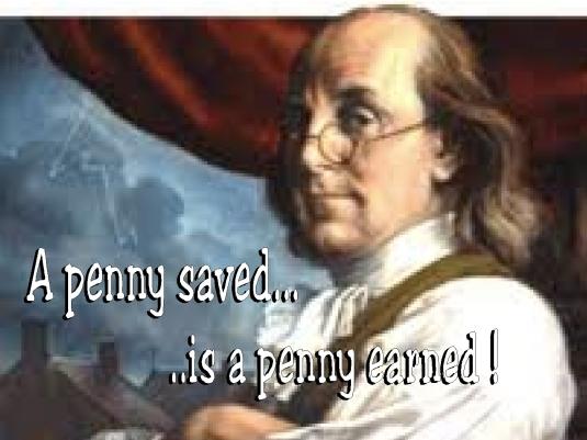 a penny saved 1