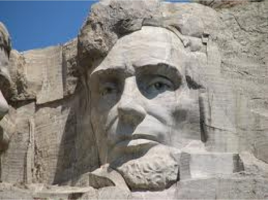 Abraham Lincoln - mount Rushmor