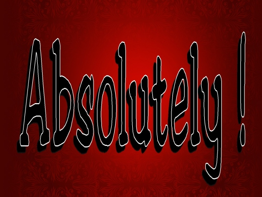absolutely - red 1a