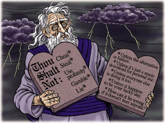 alternative commandments 1