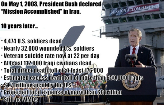 Bush - Mission accomplished 1