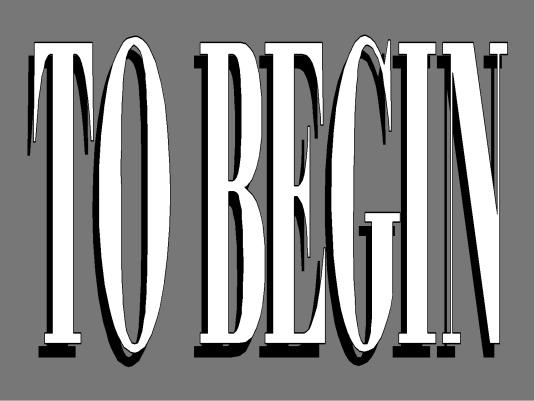 Forum - To Begin