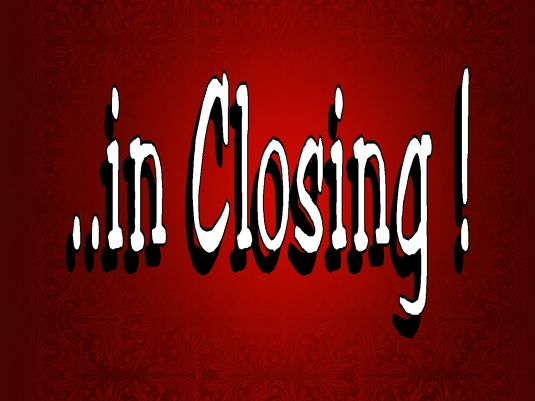 in closing - red 2a