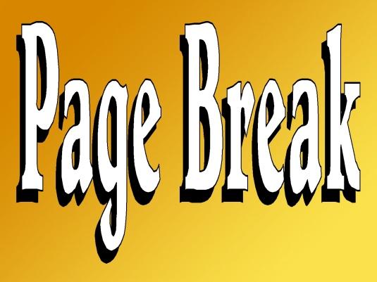 is death special - page break