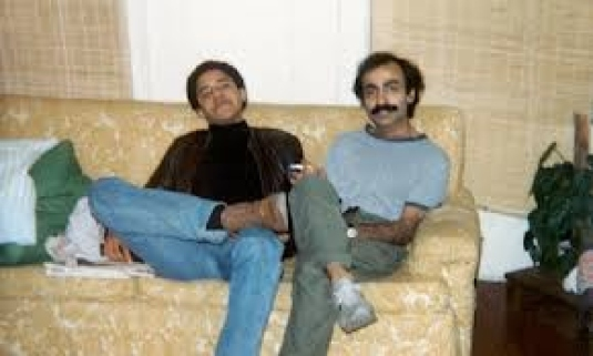 Obama and friend