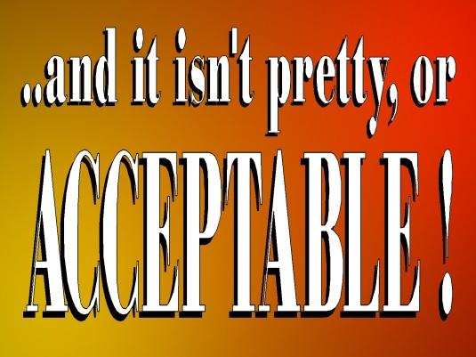 or acceptable 1a