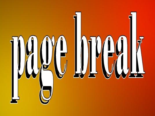 page break - page break 2b
