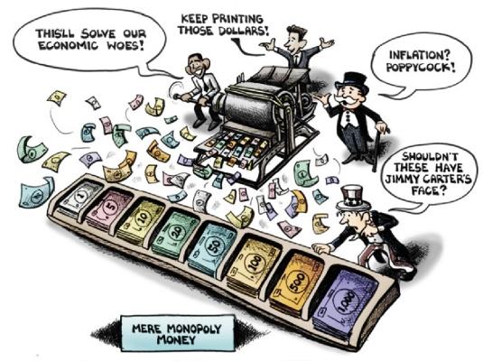 printing money cartoon 1