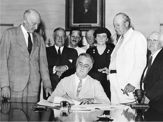 Roosevelt 2  - Social Security act