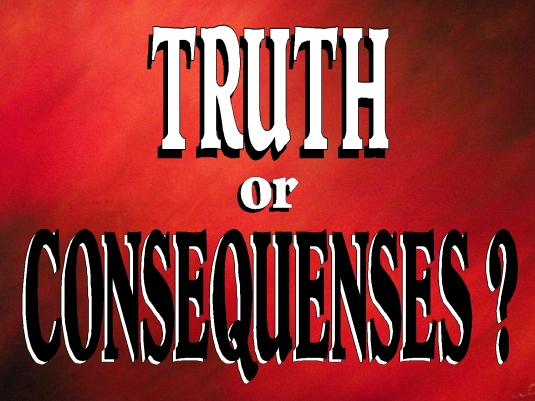truth or consequences - page br