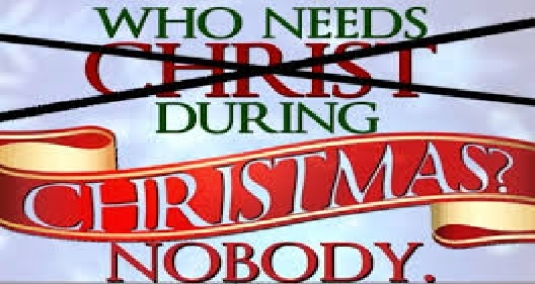 who needs Christ in Christmas 1
