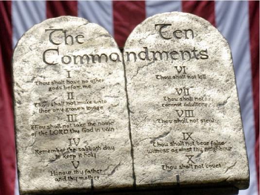 10 Commandments - flag 1a