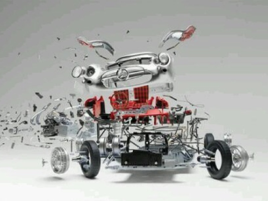 car - exploded view 1a