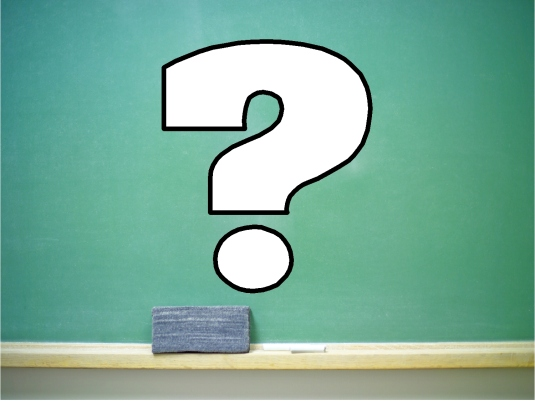 chalkboard - question mark 1a