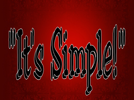 it's simple - graphic 1