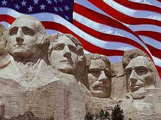 mount Rushmore - flag 1