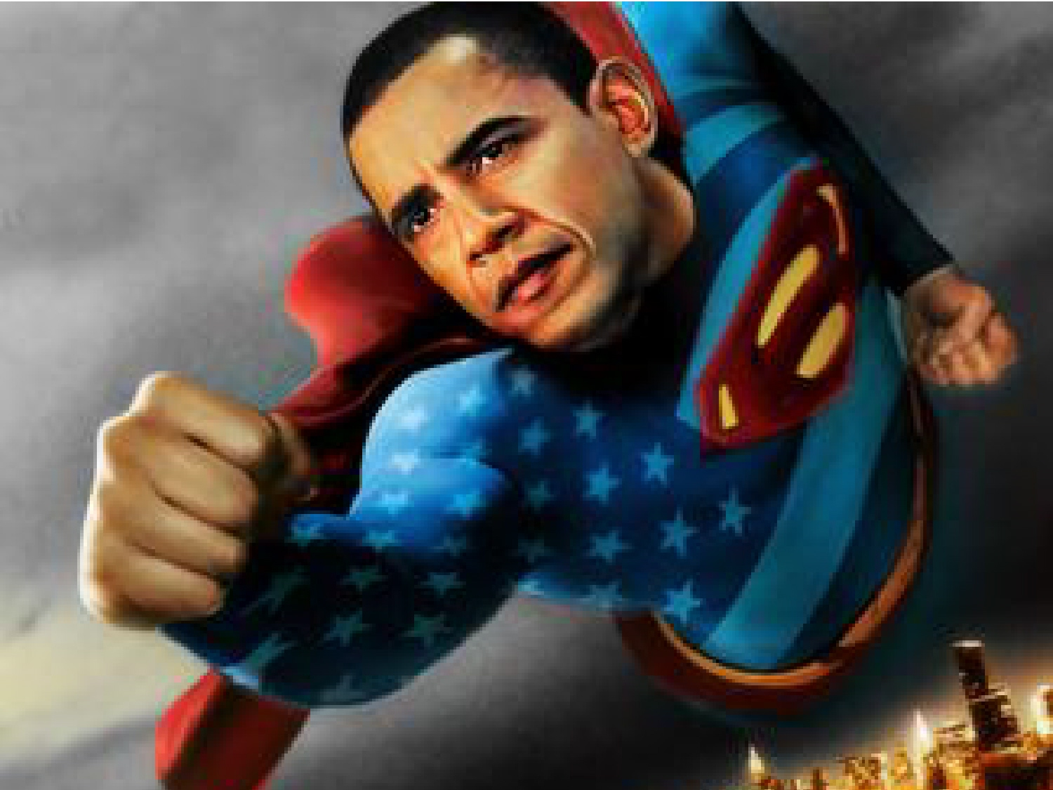 relationship between superman antichrist obama