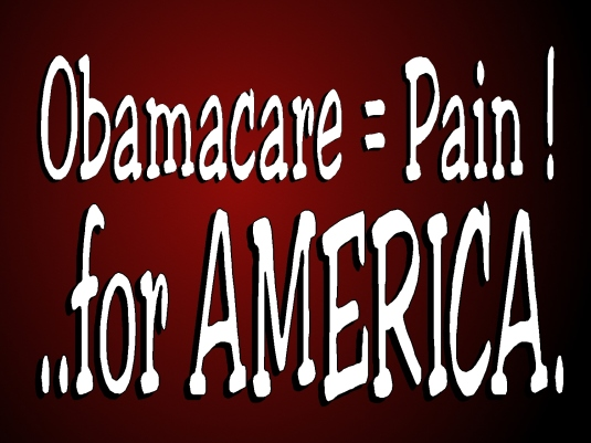 Obamacare equals pain 1b