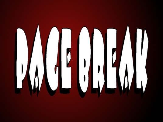 page break - red -white 1