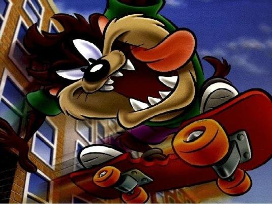 Tasmanian devil - skateboard 1