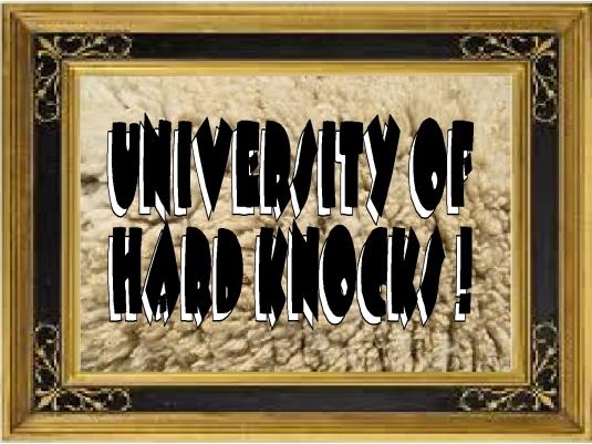 University of hard knocks 1A