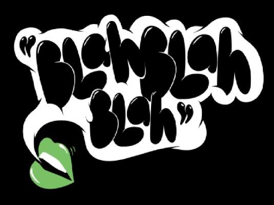 blah blah blah - graphic 1