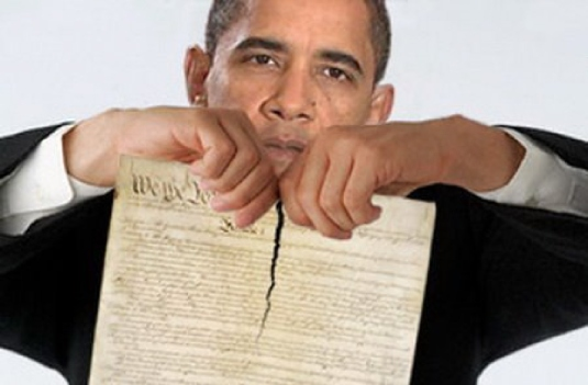 disdain for the Constitution