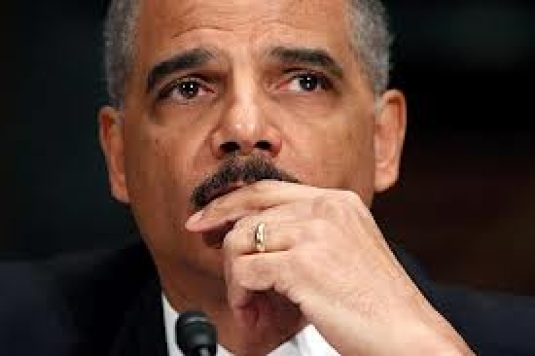 Eric holder testifying