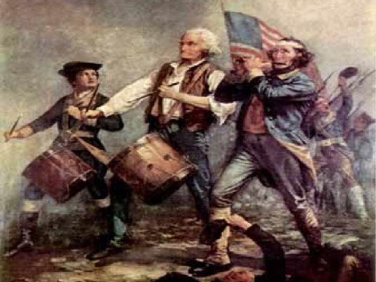 Fife and drum - graphic 1a