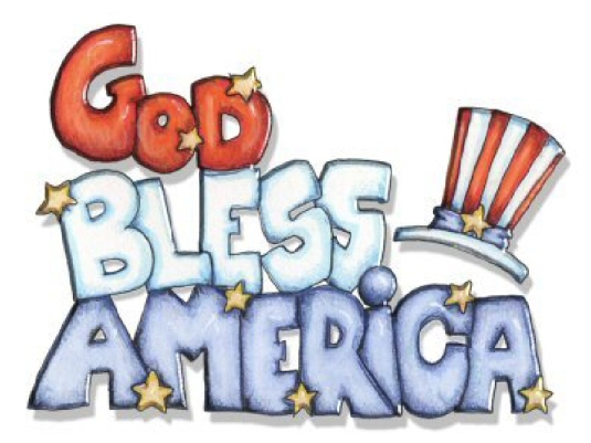 God bless America - graphic 1