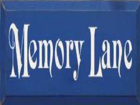 memory Lane - blue plaque 1a