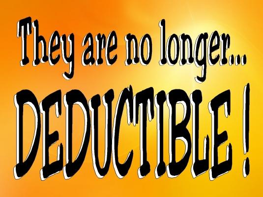 no longer deductible 1a