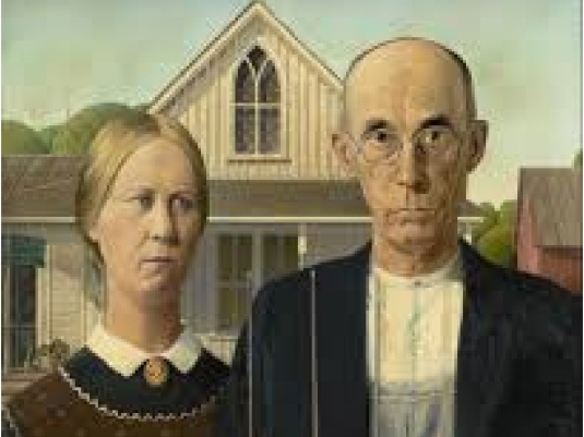 Norman Rockwell mom and dad 1a