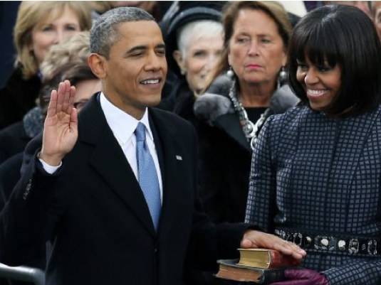 oath of office - Obama 3a