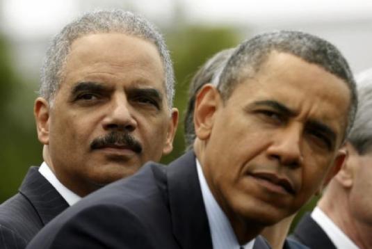 Obama and Holder 1