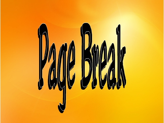 page break - Jester 1a