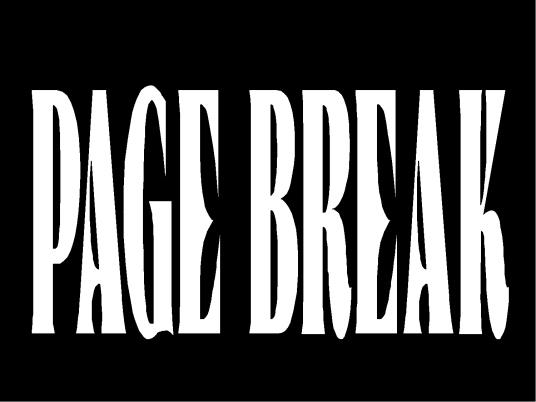 page break - Pickwick 1