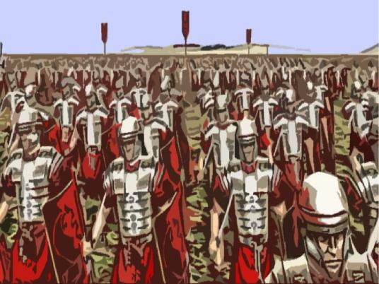 Roman legion - graphic 1A